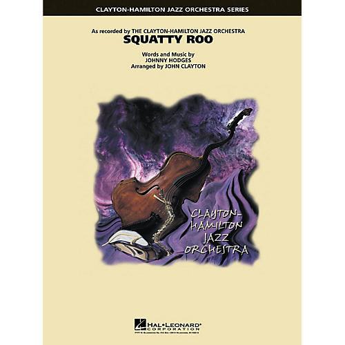 Hal Leonard Squatty Roo Jazz Band Level 5 Arranged by John Clayton-thumbnail
