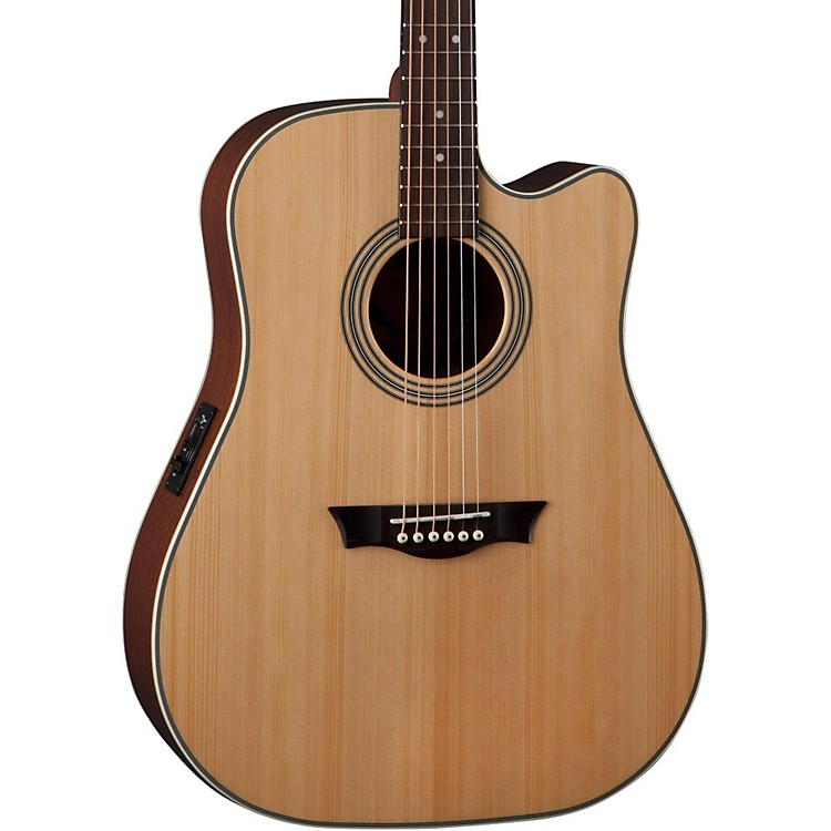 Dean St. Augustine Dreadnought Cutaway Acoustic-Electric Guitar Natural