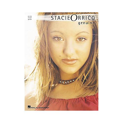 Hal Leonard Stacie Orrico Genuine Piano, Vocal, Guitar Songbook-thumbnail