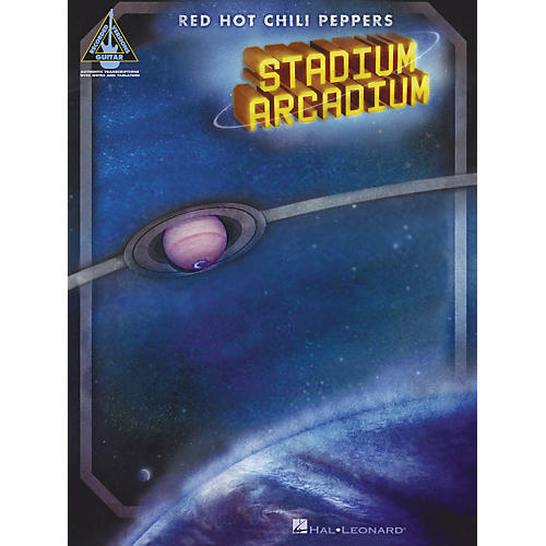 Hal Leonard Stadium Arcadium Red Hot Chili Peppers Guitar Tab Songbook