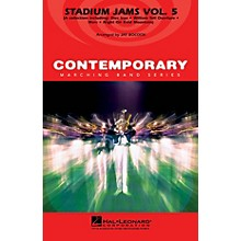 Hal Leonard Stadium Jams - Vol. 5 Marching Band Level 3-4 Arranged by Jay Bocook