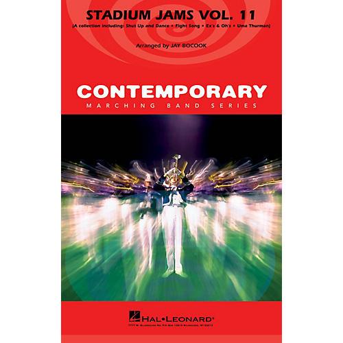 Hal Leonard Stadium Jams - Volume 11 Marching Band Level 4 Arranged by Jay Bocook-thumbnail