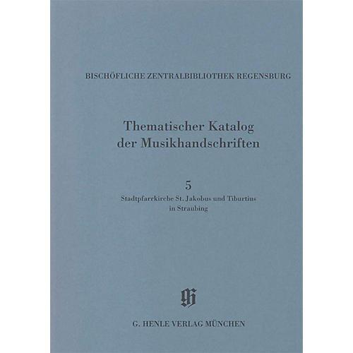 G. Henle Verlag Stadtpfarrkirche St. Jakobus und Tiburtius in Straubing Henle Books Series Softcover