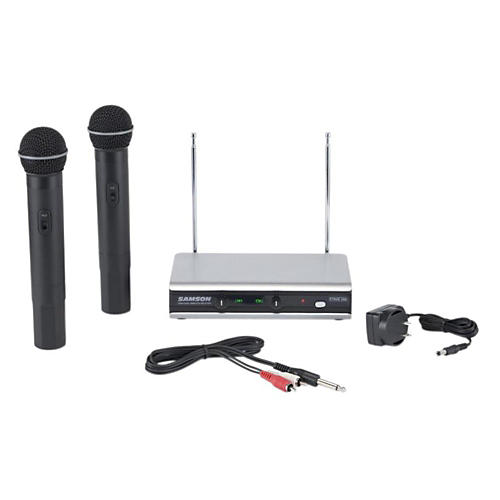 Samson Stage 266 Dual Handheld Wireless System Band 6 and 11