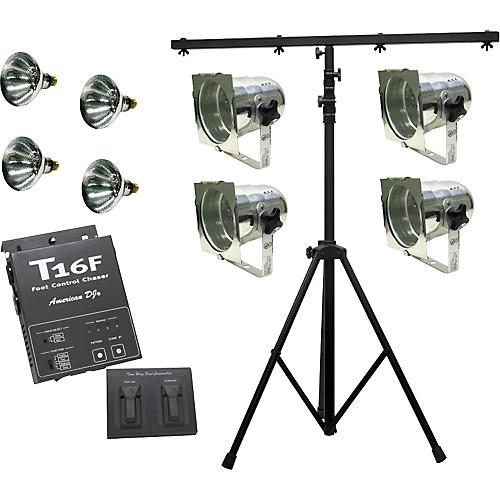 American DJ Stage Act 4 Lighting Package-thumbnail