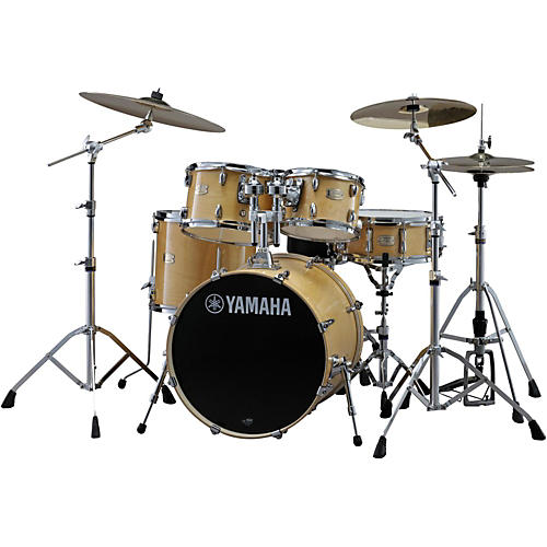 yamaha stage custom birch 5 piece shell pack with 20 inch bass drum natural wood musician 39 s friend. Black Bedroom Furniture Sets. Home Design Ideas