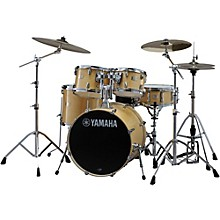 "Yamaha Stage Custom Birch 5-Piece Shell Pack with 22"" Bass Drum Natural Wood"