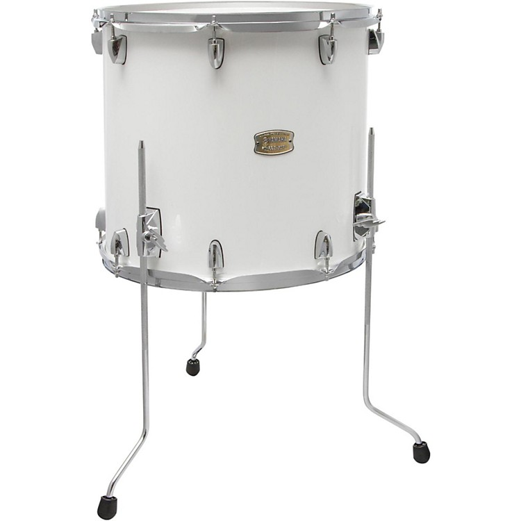Yamaha stage custom birch floor tom 14x13 inch pure white for 13 inch floor tom