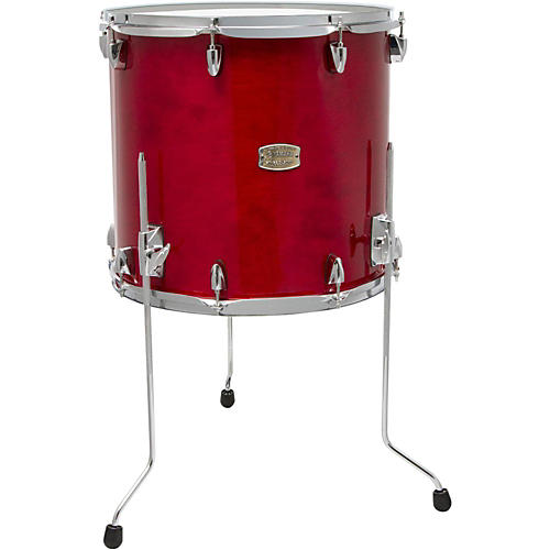 Yamaha stage custom birch floor tom 18 x 16 in cranberry for 18 inch floor tom for sale
