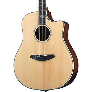 Stage Dreadnought Acoustic-Electric Guitar Natural