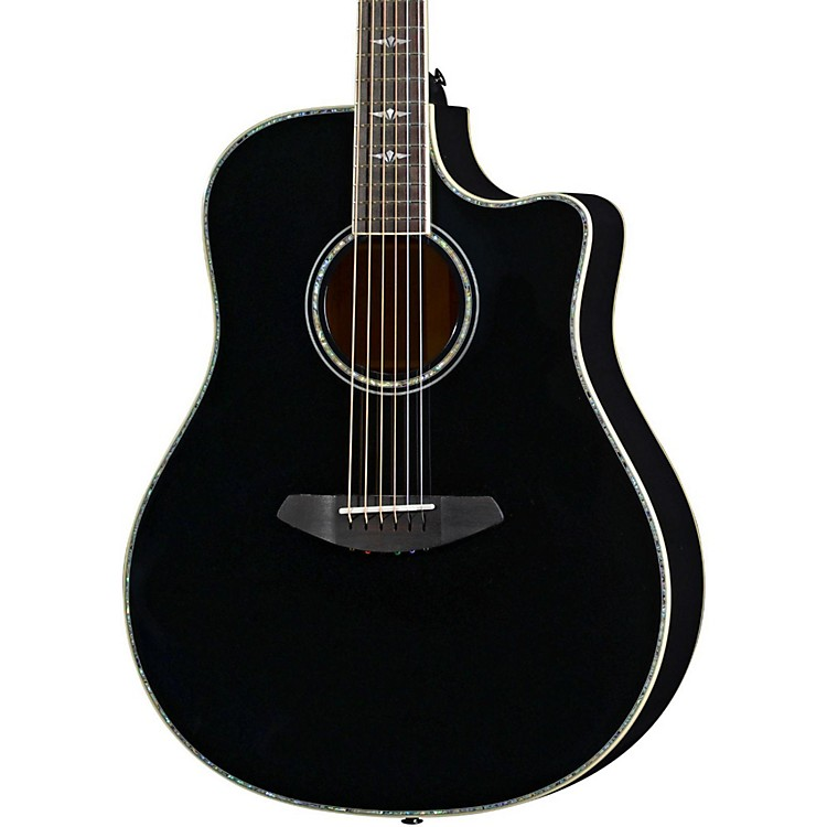 Breedlove Stage Dreadnought Black Magic Acoustic-Electric Guitar Black
