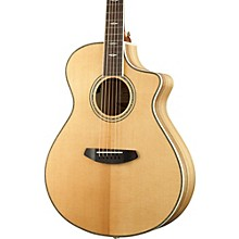 Open Box Breedlove Stage Exotic Concert CE Sitka Spruce - Myrtlewood Acoustic-Electric Guitar