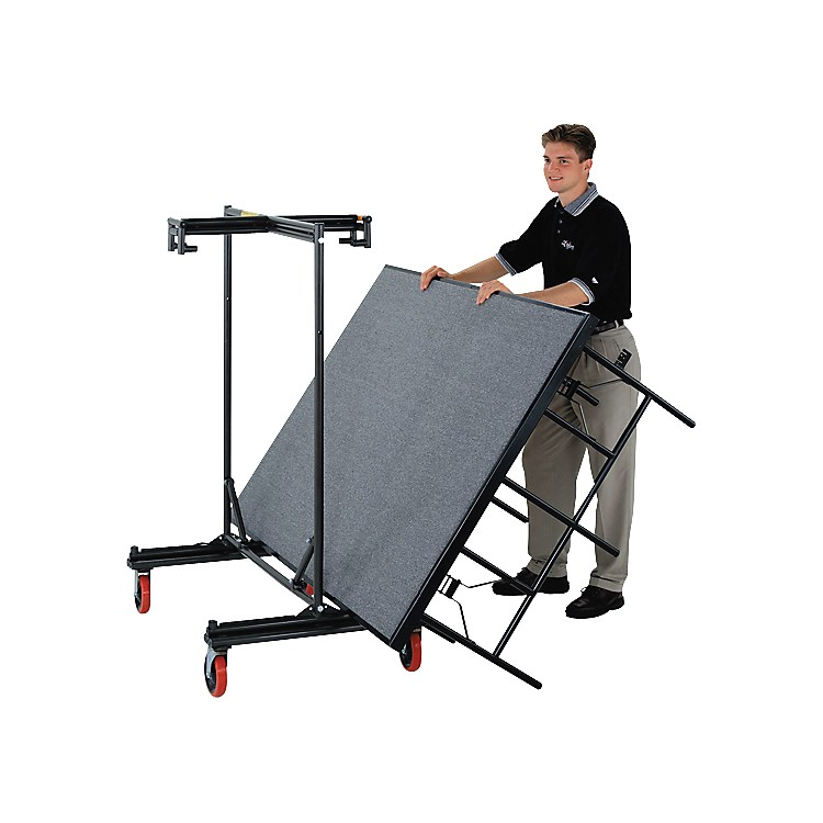 Midwest Folding Products Stage and Riser Caddy