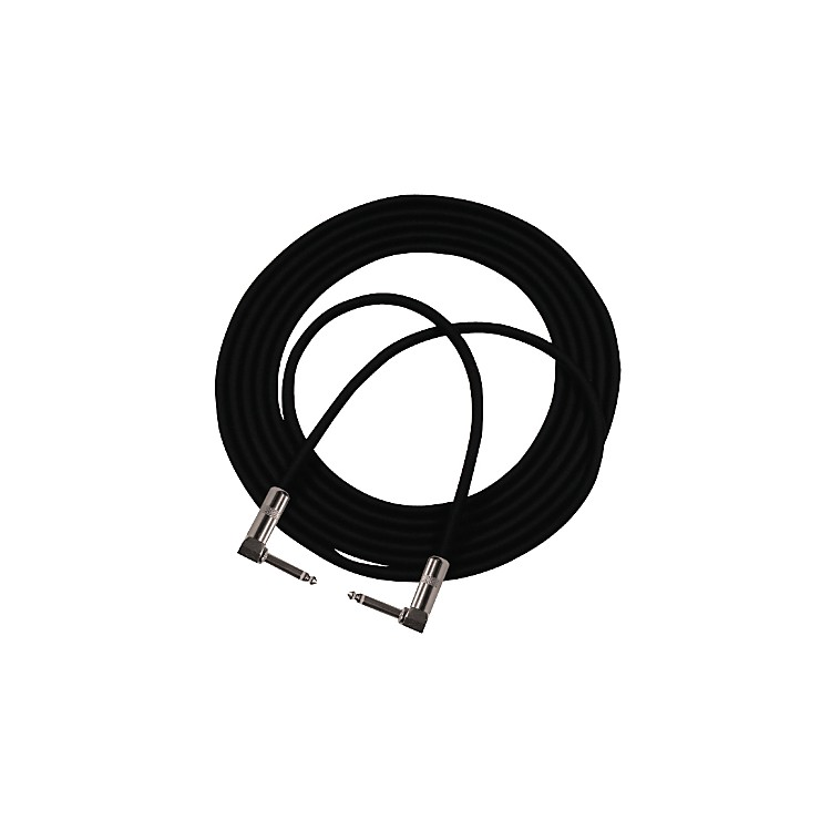 Pro CoStageMASTER Double Angle Instrument Cable3 Feet