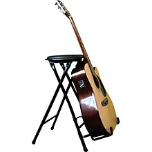 Open Box Alfred StagePlayer II - Guitarist Stool and Stand with Footrest