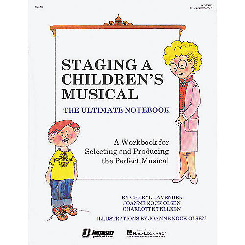 Hal Leonard Staging a Children's Musical- Ultimate Notebook-thumbnail