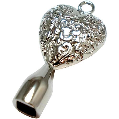 Dojo Drum Keys Stainless Steel Drum Key Solid Filigree Heart
