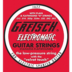 gretsch guitars stainless steel flatwound guitar strings musician 39 s friend. Black Bedroom Furniture Sets. Home Design Ideas