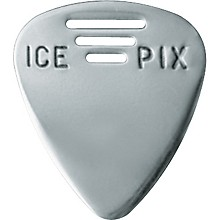 Ice Pix Stainless Steel Guitar Picks - 3 Pack Heavy 3-Pack