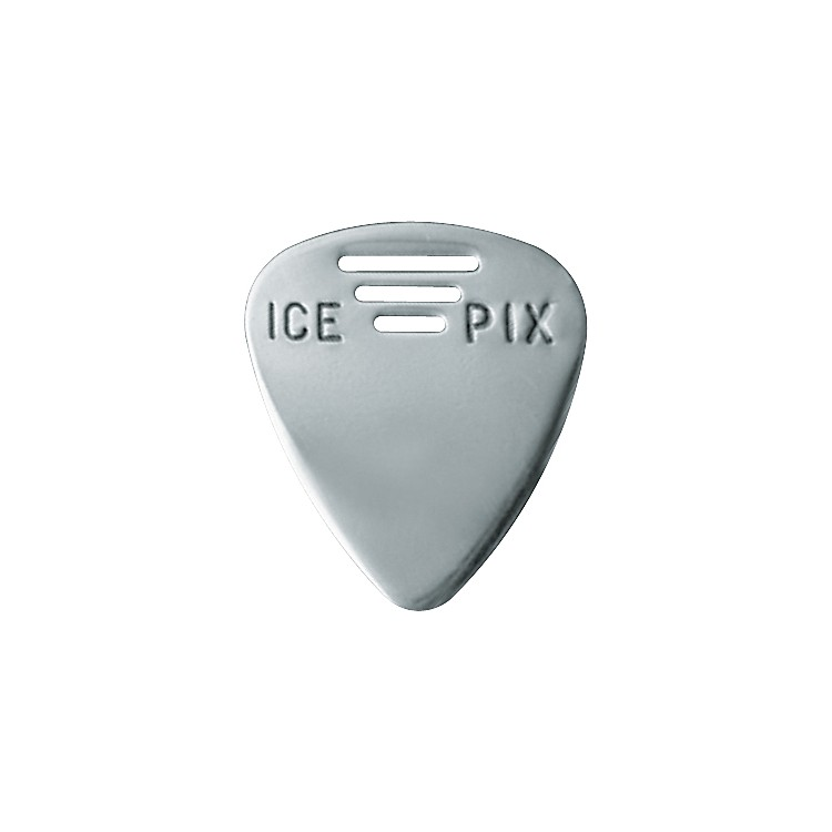 Ice Pix Stainless Steel Guitar Picks - 3 Pack
