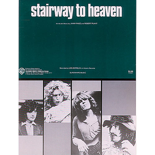 Alfred Stairway to Heaven Piano/Vocal/Chords Sheet