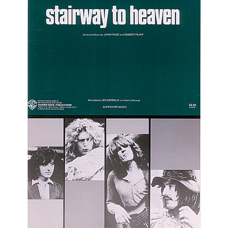 AlfredStairway to Heaven Piano/Vocal/Chords Sheet