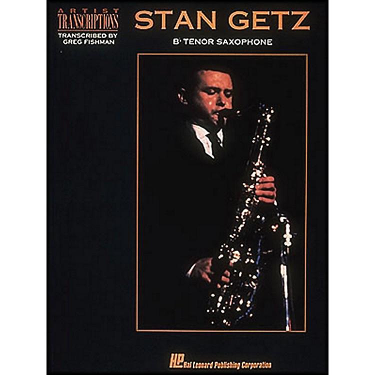 Hal LeonardStan Getz Bb Tenor Saxophone Artist Transcriptions