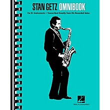 Hal Leonard Stan Getz Omnibook For B-Flat Instruments