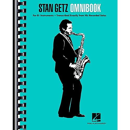 Hal Leonard Stan Getz Omnibook For B-Flat Instruments-thumbnail