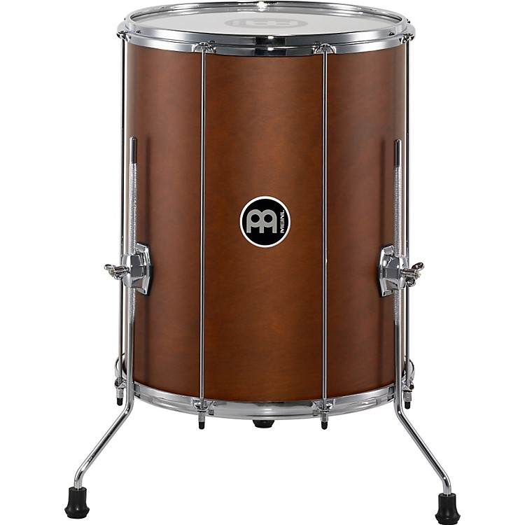 MeinlStand Alone Wood Surdo with Legs16 In x 20 InAfrican Brown
