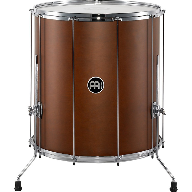 Meinl Stand Alone Wood Surdo with Legs 22 In x 24 In African Brown