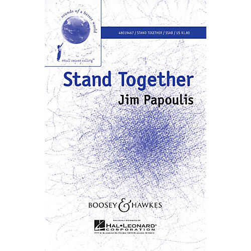 Boosey and Hawkes Stand Together (Sounds of a Better World) SSAB arranged by Francisco Núñez-thumbnail