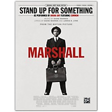 Alfred Stand Up for Something (from Marshall) Piano/Vocal/Guitar