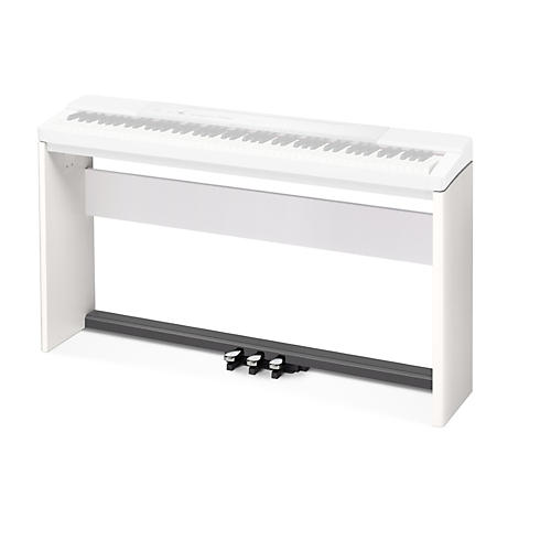 Casio Stand and 3-Pedal Bundle for Privia PX-150 & PX-350 Keyboards White
