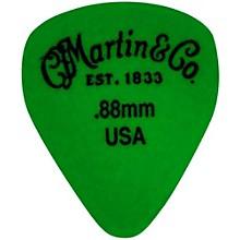 Martin Standard Delrin Guitar Pick Green 88mm 72 Pieces
