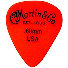 Martin Standard Delrin Guitar Pick Red 50mm 72 Pieces