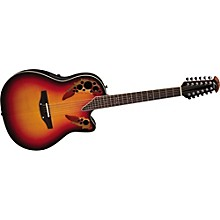 Ovation Standard Elite 2758 AX 12-String Acoustic-Electric Guitar
