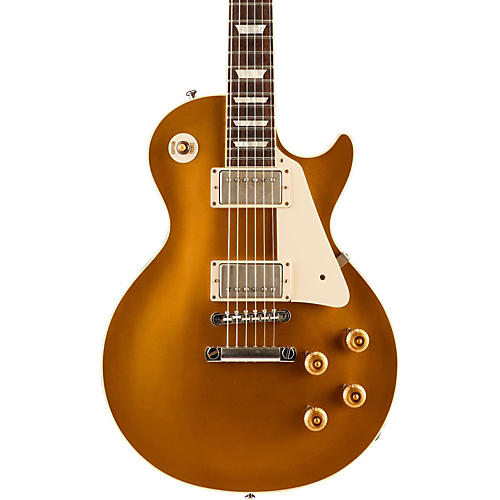 Gibson Custom Standard Historic 1957 Les Paul Goldtop Reissue VOS Electric Guitar Antique Gold