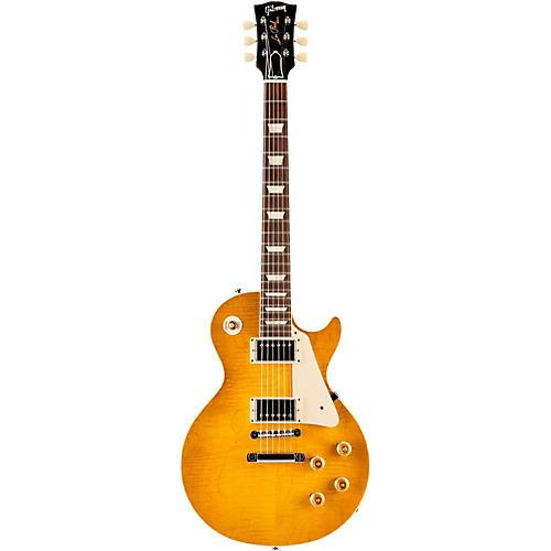 Gibson Custom Standard Historic 1958 Les Paul Plaintop Reissue Gloss Electric Guitar-thumbnail