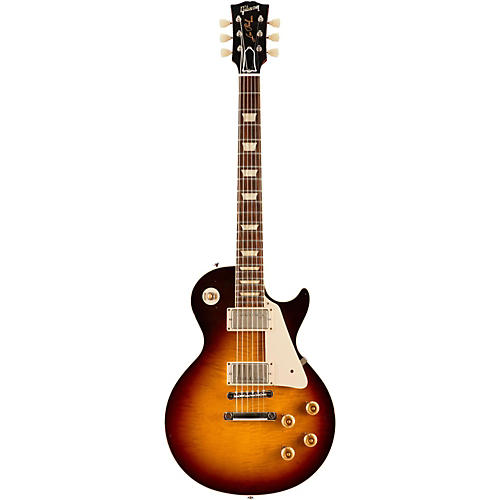 Gibson Custom Standard Historic 1958 Les Paul Plaintop Reissue Lightly Aged Electric Guitar-thumbnail