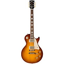 Gibson Custom Standard Historic 1958 Les Paul Plaintop Reissue VOS Electric Guitar Iced Tea