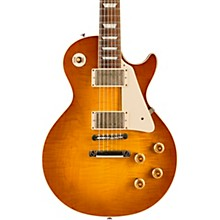 Gibson Custom Standard Historic 1958 Les Paul Plaintop Reissue VOS Electric Guitar Sunrise Tea Burst