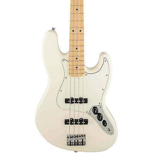 Fender Standard Jazz Bass Guitar Arctic White Gloss Maple Fretboard