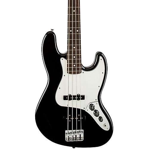 Fender Standard Jazz Bass Guitar Black Rosewood Fretboard