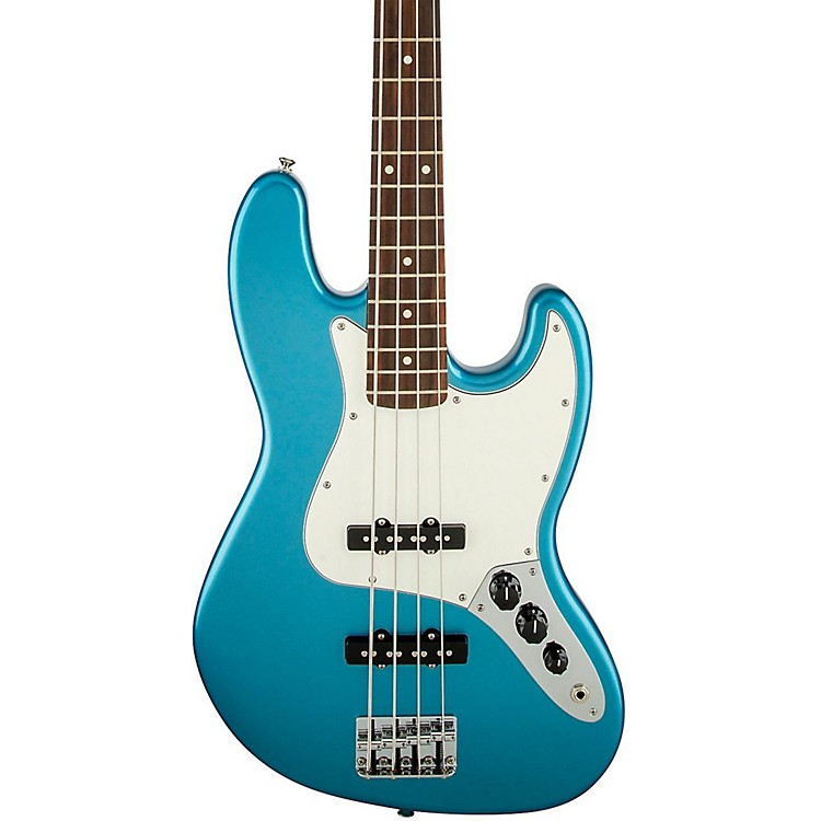 Fender Standard Jazz Bass Guitar Lake Placid Blue Rosewood Fretboard