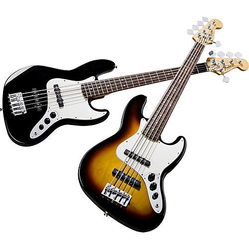 Fender Standard Jazz Bass V 5-String Bass Guitar-thumbnail