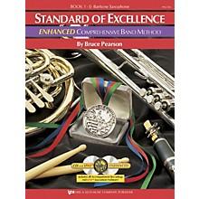 KJOS Standard Of Excellence Book 1 Enhanced Baritone Sax Band Method