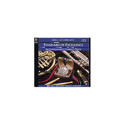 KJOS Standard Of Excellence Book 2 Accompaniment 2-CD Set