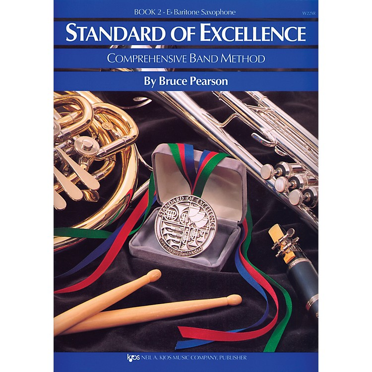 KJOS Standard Of Excellence Book 2 Bari Sax