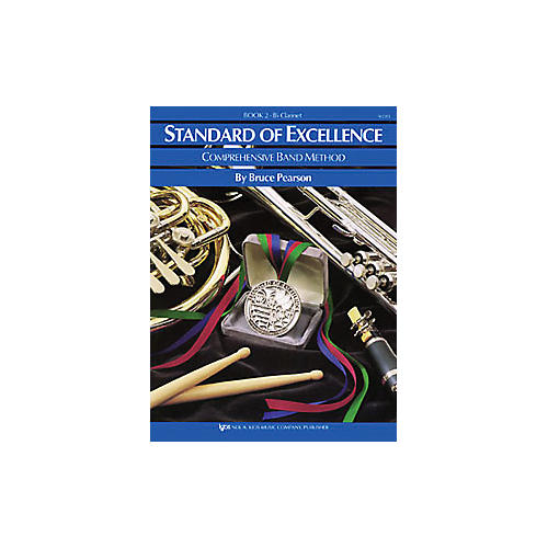 KJOS Standard Of Excellence Book 2 Clarinet